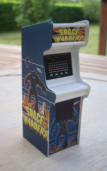 Accessoires diorama : la borne d'arcade au 1:25 25