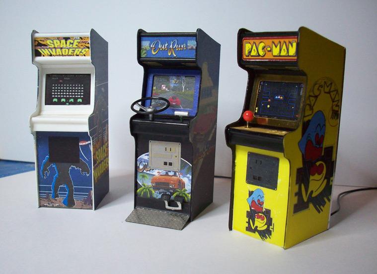 Accessoires diorama : la borne d'arcade au 1:25 31