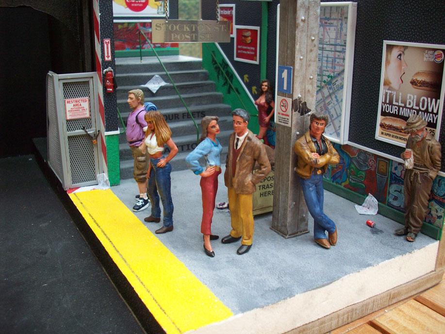 Un vieux truc : la station de tramway 12