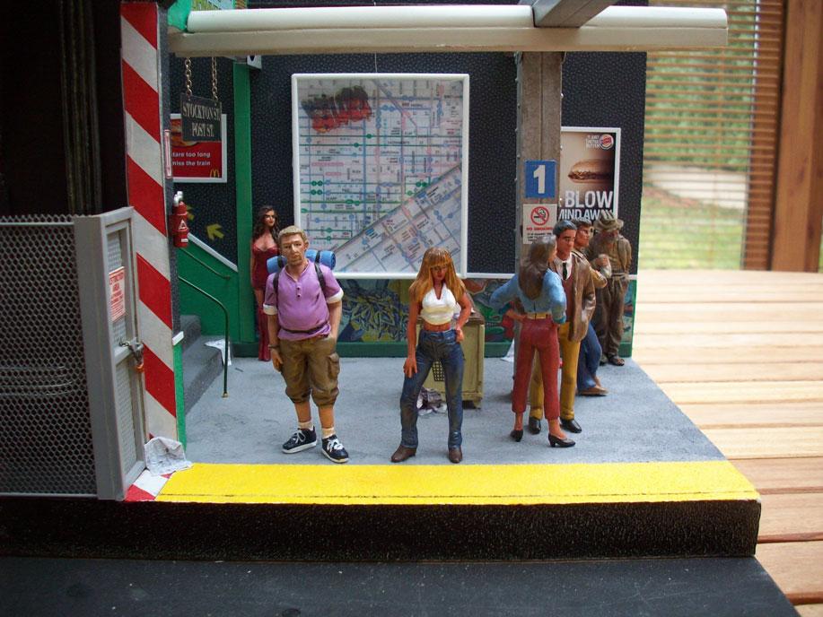 Un vieux truc : la station de tramway 14