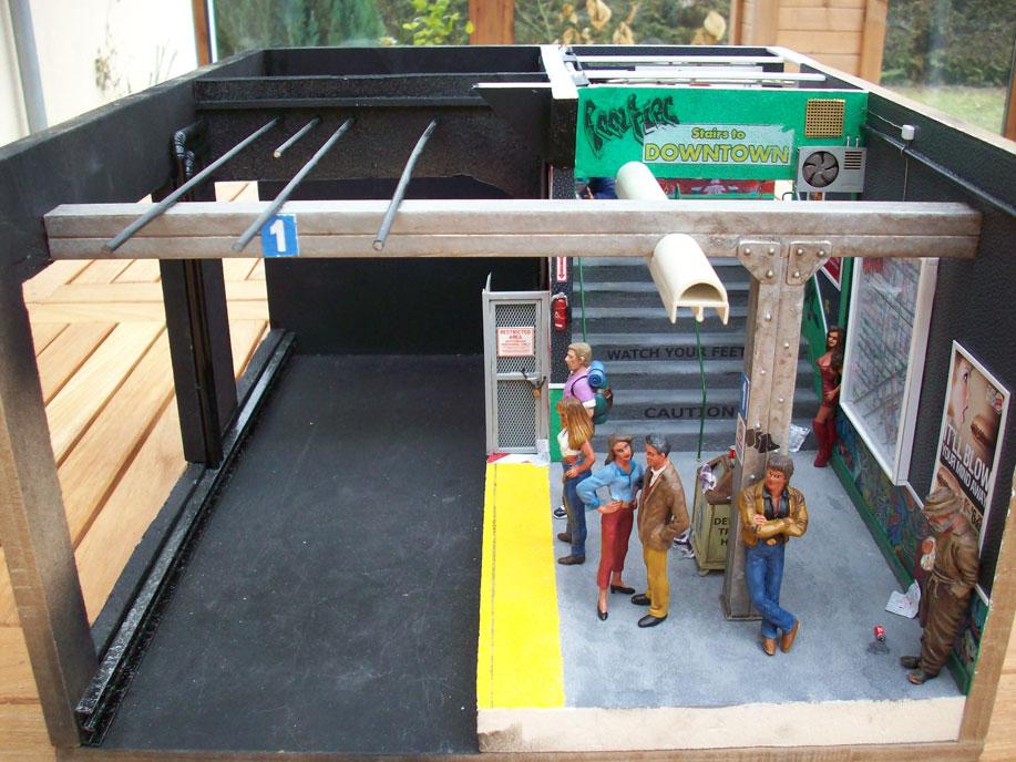 Un vieux truc : la station de tramway 18