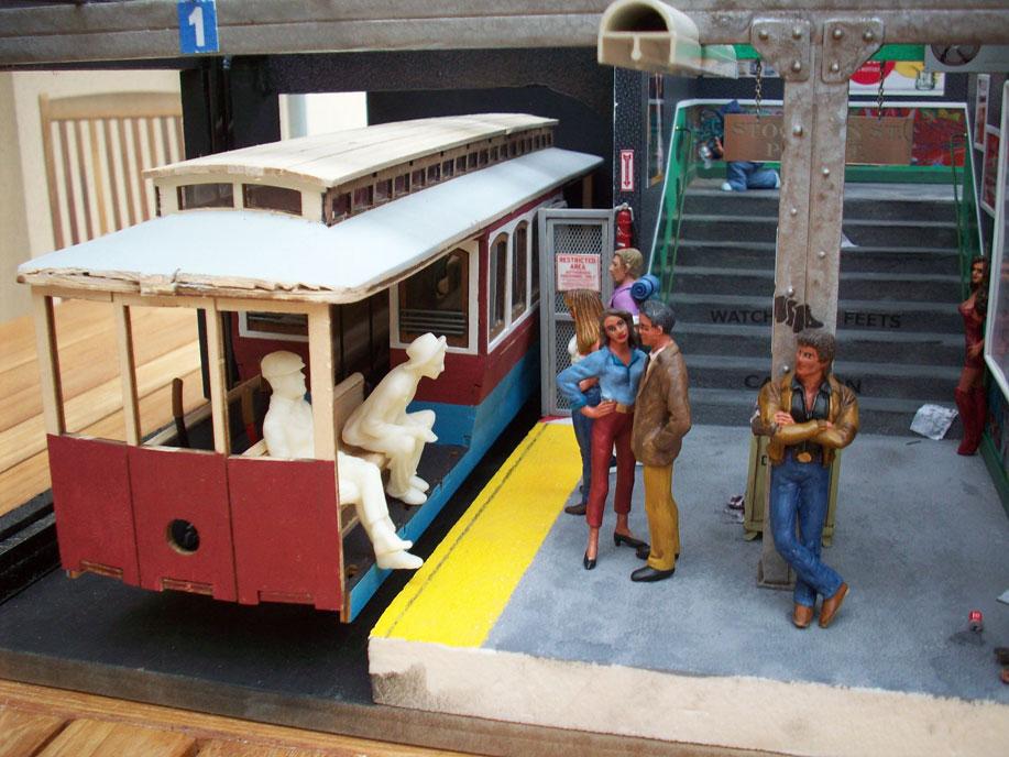Un vieux truc : la station de tramway 28