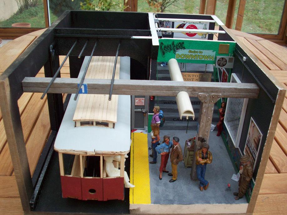 Un vieux truc : la station de tramway 30