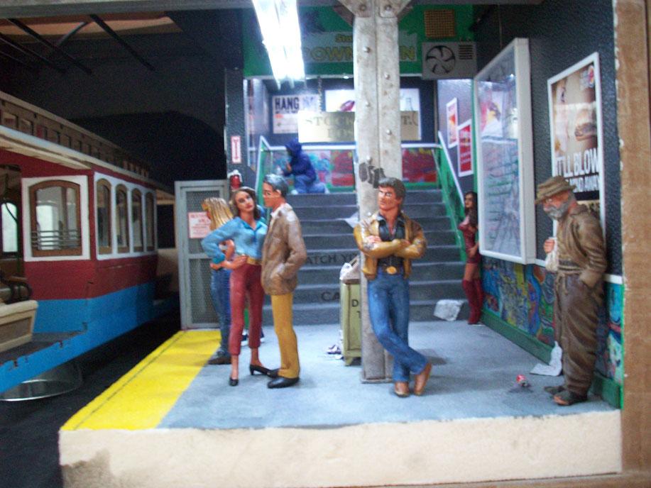 Un vieux truc : la station de tramway 61