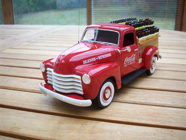 Vintage 1950 Chevy 3100 Coca Cola Delivery 11