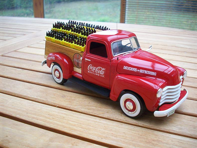 Vintage 1950 Chevy 3100 Coca Cola Delivery 12