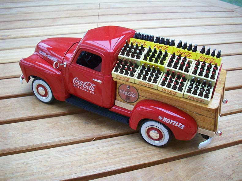 Vintage 1950 Chevy 3100 Coca Cola Delivery 13