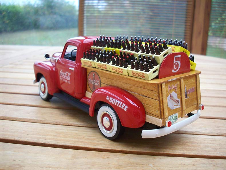 Vintage 1950 Chevy 3100 Coca Cola Delivery 14