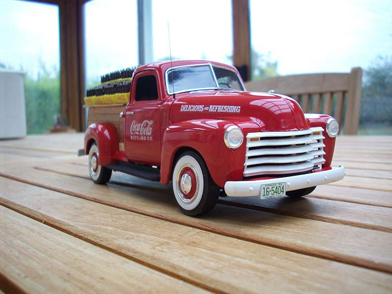 Vintage 1950 Chevy 3100 Coca Cola Delivery 15