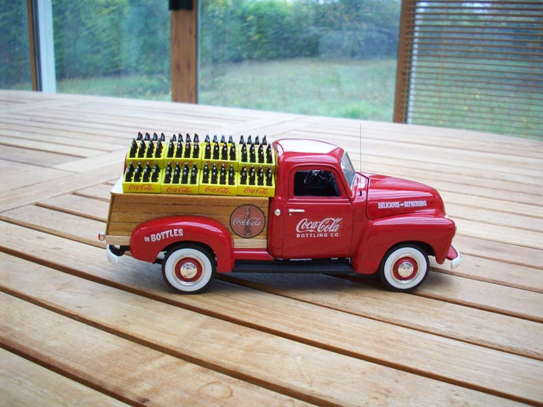 Vintage 1950 Chevy 3100 Coca Cola Delivery 16