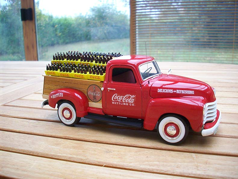 Vintage 1950 Chevy 3100 Coca Cola Delivery 5