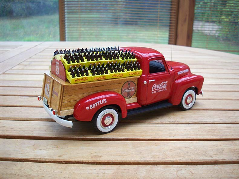 Vintage 1950 Chevy 3100 Coca Cola Delivery 6