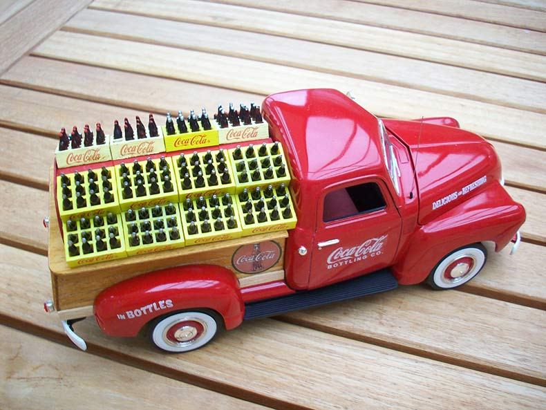 Vintage 1950 Chevy 3100 Coca Cola Delivery 7