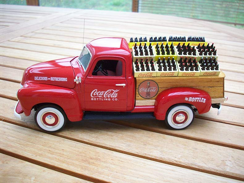 Vintage 1950 Chevy 3100 Coca Cola Delivery 8