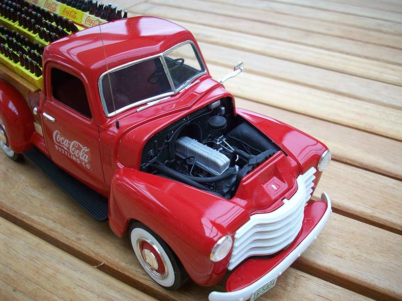 Vintage 1950 Chevy 3100 Coca Cola Delivery 9
