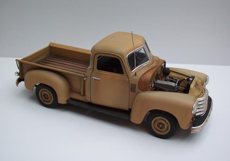 Pickup Chevy 50  15