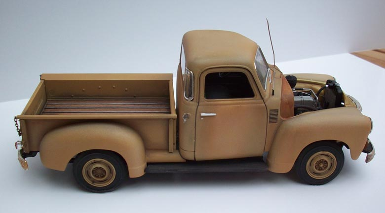 Pickup Chevy 50  16