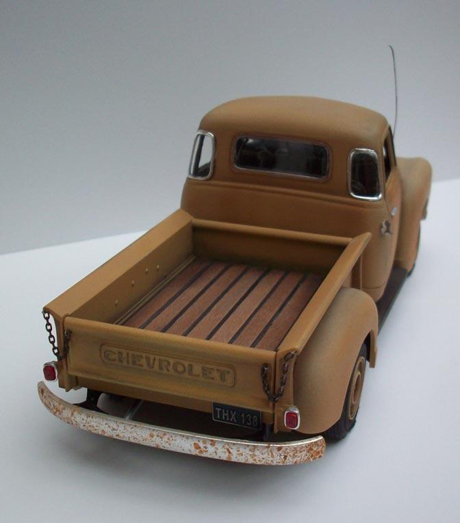 Pickup Chevy 50  17