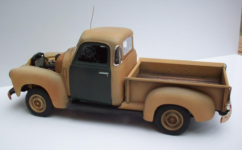 Pickup Chevy 50  18