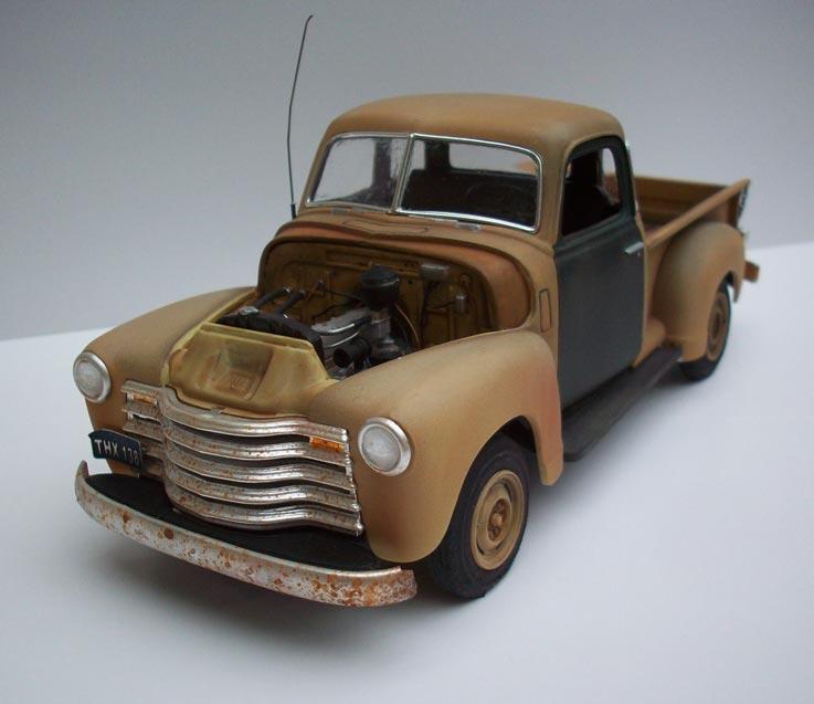 Pickup Chevy 50  19