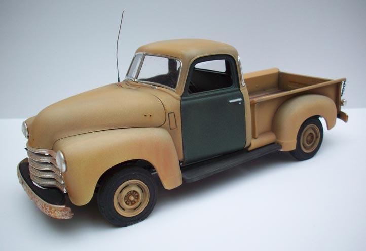 Pickup Chevy 50  20