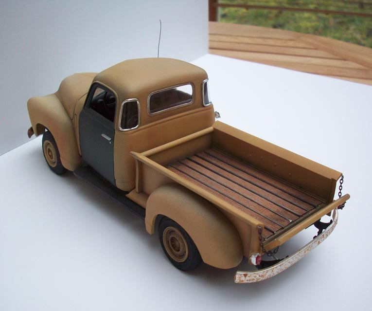 Pickup Chevy 50  22