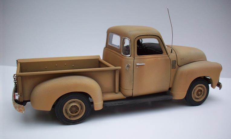 Pickup Chevy 50  25