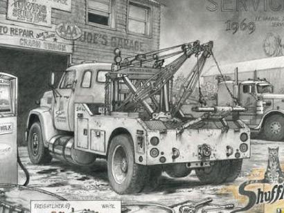 Ford Louisville ferrailleur [WIP] 1b