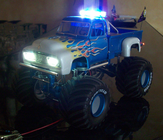 Ford F100 Monster Truck 91