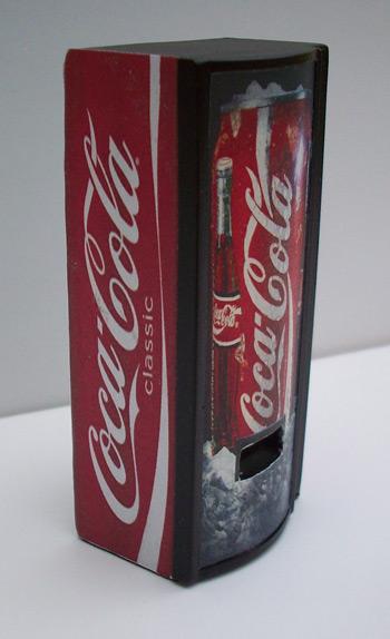 Accessoires Diorama : Le distributeur de boissons au 1:25 11