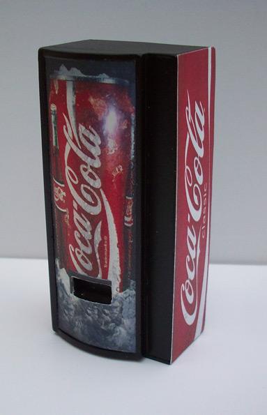 Accessoires Diorama : Le distributeur de boissons au 1:25 12