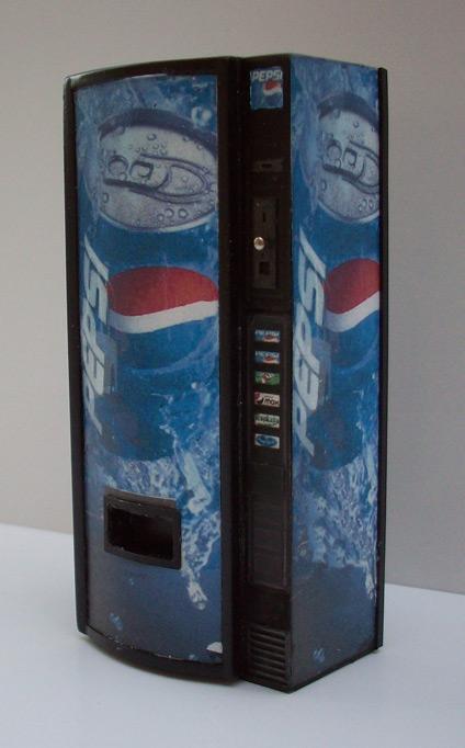 Accessoires Diorama : Le distributeur de boissons au 1:25 7