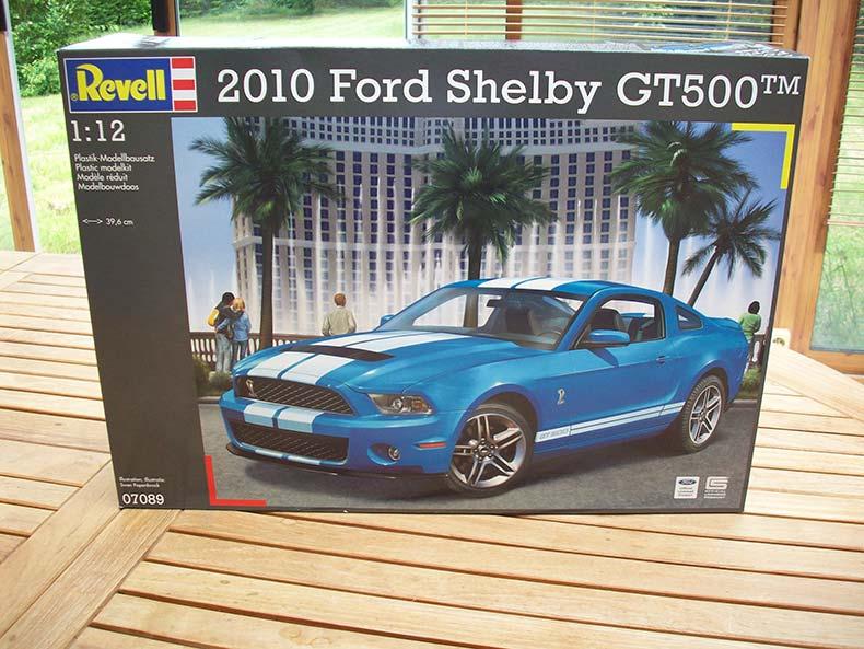 Shelby GT500 Pace car 1/12 [terminé] 1