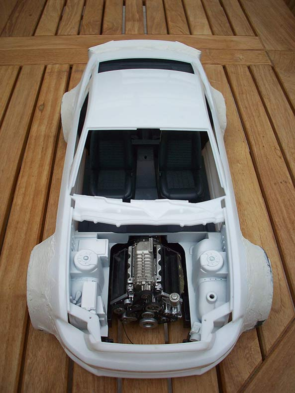 Shelby GT500 Pace car 1/12 [terminé] - Page 2 14