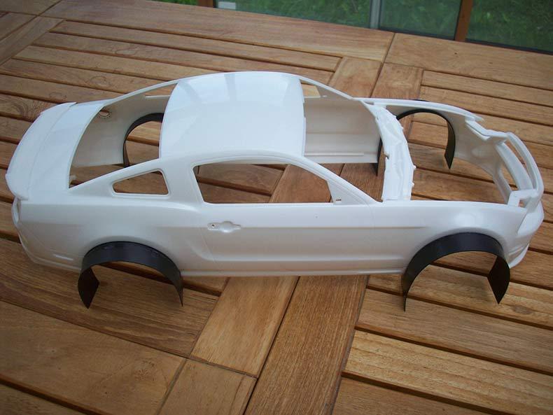 Shelby GT500 Pace car 1/12 [terminé] 6