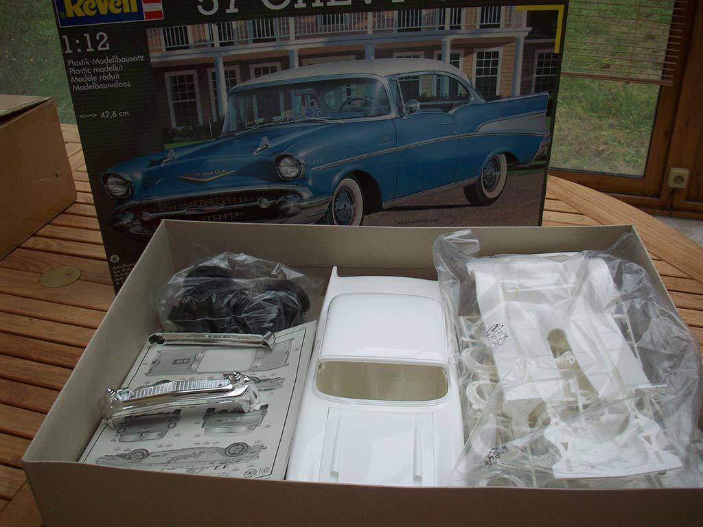 Vends Chevy 57 1:12 Nov23